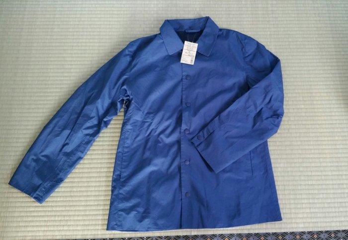 MUJI 無印良品 襯衫外套 深藍M 軍綠S