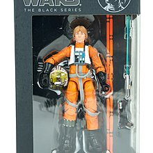 Hasbro Star Wars The Black Series 6 inch Luke Skywalker  X-wing Rebel pilot
