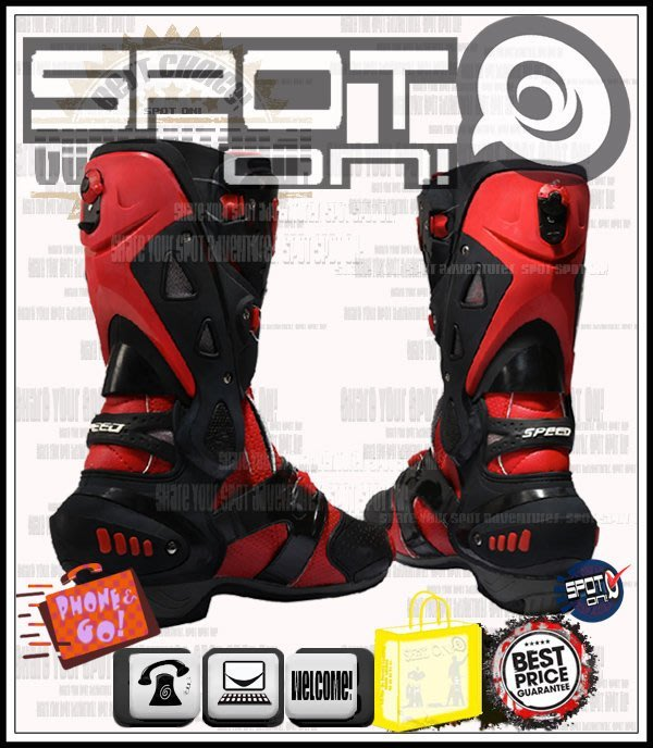 Spot ON - PRO BIKER B1003款長車靴!大尺碼! MH900E S2R S4R 番仔管 滑衣 6N