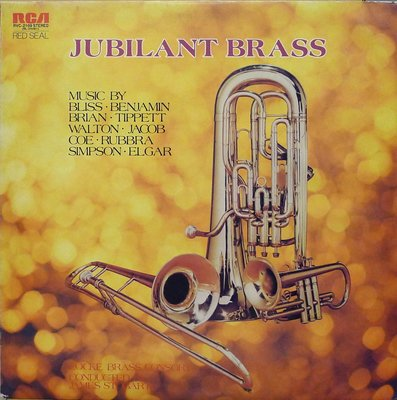 §小宋唱片§ 日版RCA/Jubilant Brass/The Locke Consort of Brass/見本盤