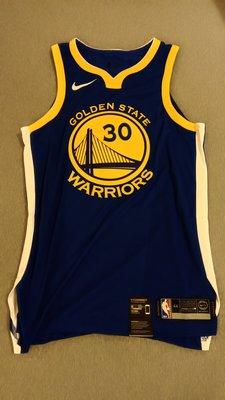 STEPHEN CURRY 球員版 球衣 NIKE 全新 M號 全新含吊牌