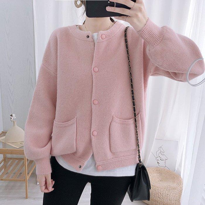 🌺 拿鐵小姐MISS LATTE🌺chic 韓國單  舒適針織毛衣外套