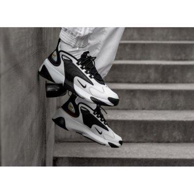 【Fashion SPLY】Nike Zoom 2K 黑白 復古 老爹鞋 AO0269-101