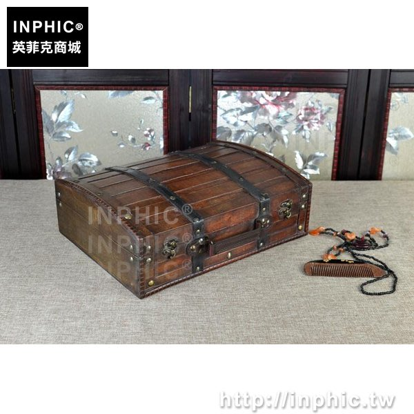 INPHIC-木箱儲物箱復古寶箱做舊手提箱分格仿古桌面收納手工_bARX