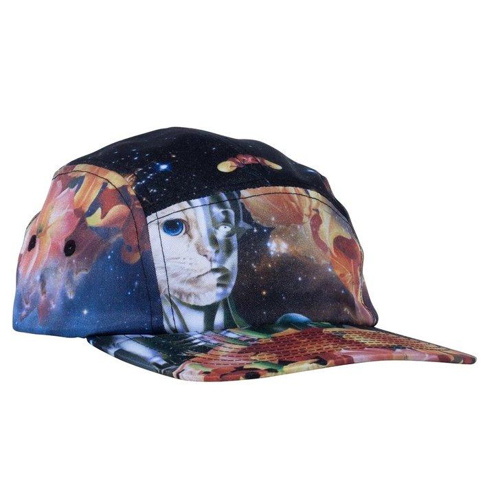 { POISON } RIPNDIP GALACTICA  CAMPER HAT 中指貓星際爭霸戰五片帽
