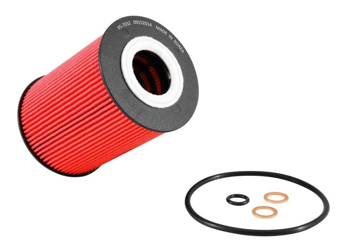 AEROTUN PORSCHE PANAMERA K&N 機油濾清器+油環