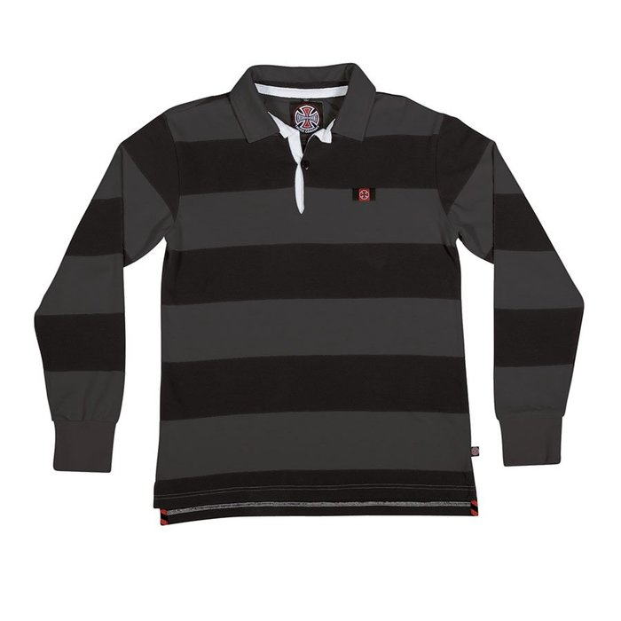 《Nightmare 》Independent Scrum L/S Rugby Polo Shirt