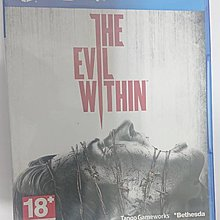 PS4 邪靈入侵 The Evil Within 二手