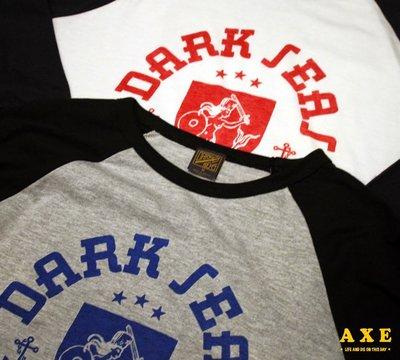 【AXE】DARK SEAS -FROZEN BATTLE 七分袖 潮流 街頭 西岸 硬派 大尺碼 南加州 敗者機