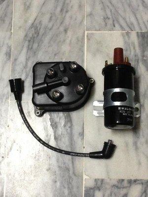 日本 HONDA 喜美 K5 K6 K7 K8 分電盤蓋 考耳(台) 矽導線 高壓線 (4孔改5孔:三項整組套件)