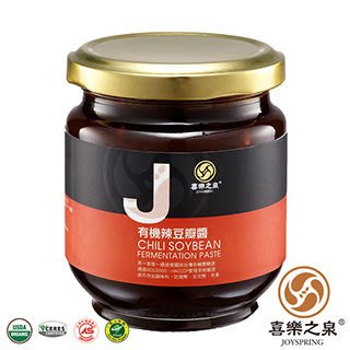 阿邦小舖 喜樂之泉 有機辣豆瓣醬/(180g)