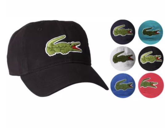 @60%OFF@Lacoste 鱷魚牌 可調整 棒球帽 帽
