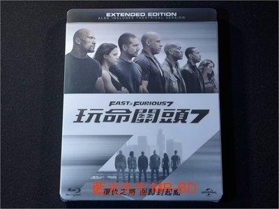 [藍光BD] - 玩命關頭7 Furious 7 ( 台灣正版 ) - 保羅沃克