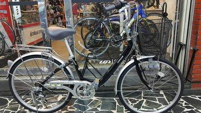(J.J.Bike) KHS T246 淑女車 通勤車 鋁合金車架 6段變速 前磨電燈 24吋 非 GIANT