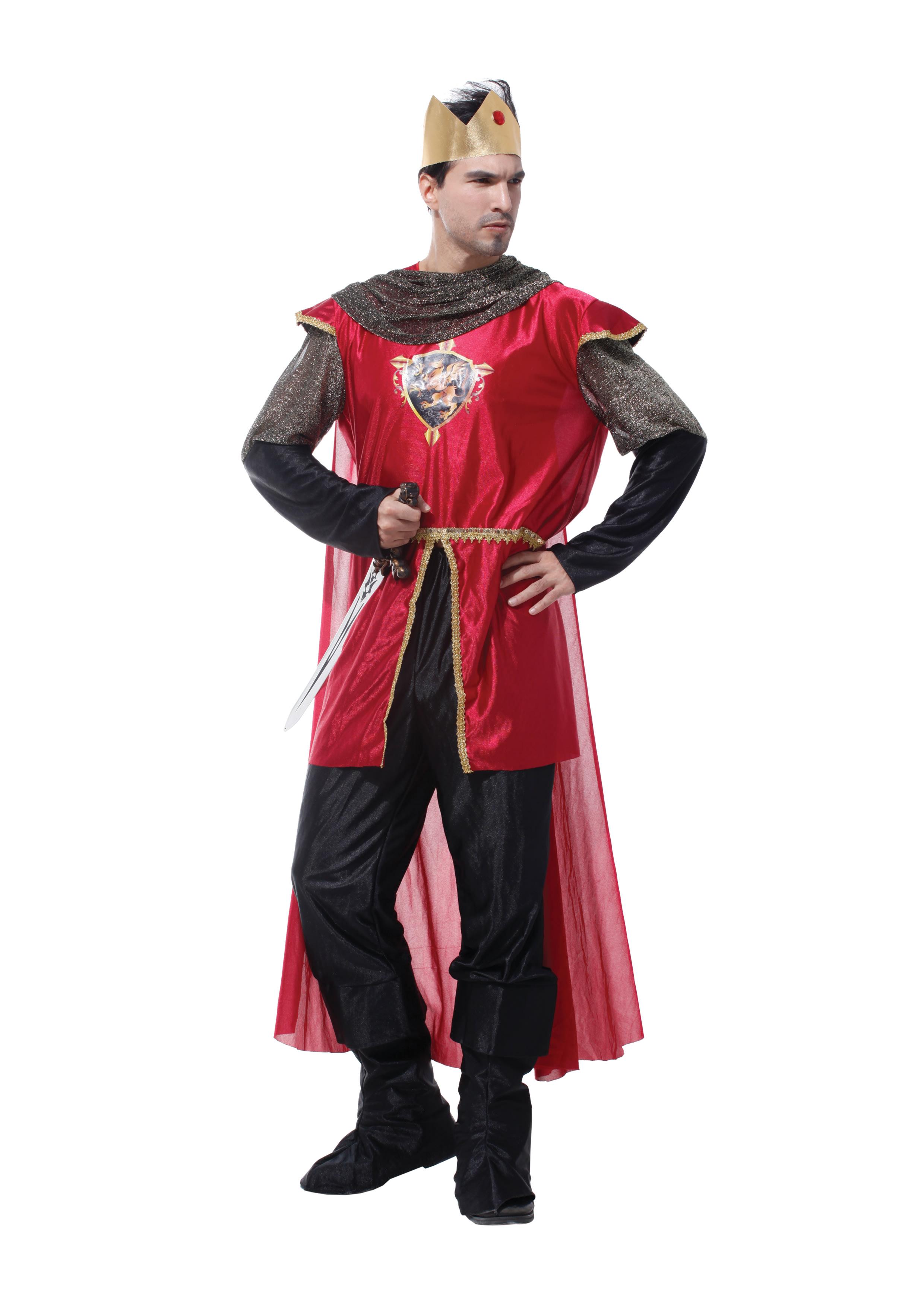 羅馬國王裝,萬聖節/化妝舞會/角色扮演/聖誕節/cosplay/尾牙,X射線【W370067】