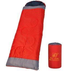 *大營家人造纖維睡袋*DJ-9032彩色100%中空纖維棉睡袋(附枕頭)~戶外休閒居家露營外宿好伙伴