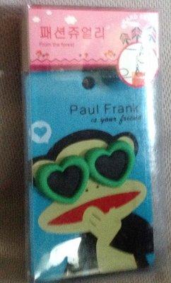 全新韓國帶回悠游卡 證件夾 車票夾 信用卡 放置夾 PAUL FRANK 可愛猴子知名品牌