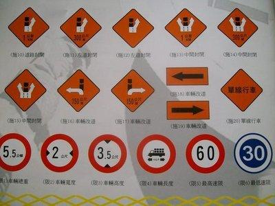 [稅金外加]反光標誌 交通標誌 警告標誌  禁止標誌  遵行標誌  限制標誌  告示牌
