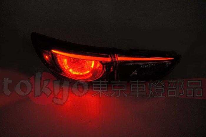 @Tokyo東京車燈部品@馬自達6 馬6 MAZDA 6 16 17 18 高階版LED光條原廠款尾燈4顆一台份
