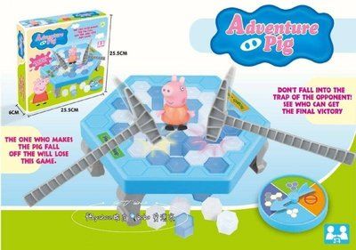 《現貨在台》粉紅豬小妹 破冰遊戲/敲冰遊戲 親子互動遊戲