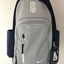 NIKE KYRIE IRVING 背包 籃球 後背包 灰藍 海軍藍 筆電 BA5133-012 水壺袋 請先詢問庫存