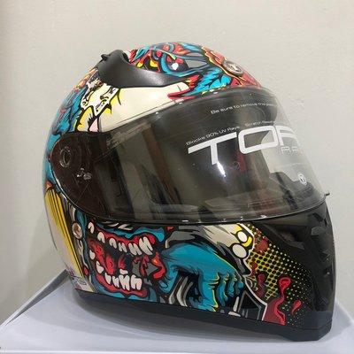 《Classic Hunter》一元起標全新美國TORC Helmets【經典雙鏡片全罩安全帽/騎士/古著】XL號