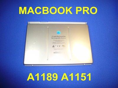 """原廠APPLE MACBOOK PRO 17"""" A1189 A1151 MA458 A1261 A1229 電池"""