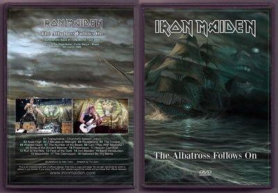 音樂居士#鐵娘子 Iron Maiden - The Albatross Follows On Brasil () DVD