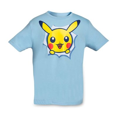 寶可夢 皮卡丘 T-Shirt 純棉 美國神奇寶貝中心 限定原裝進口 童裝