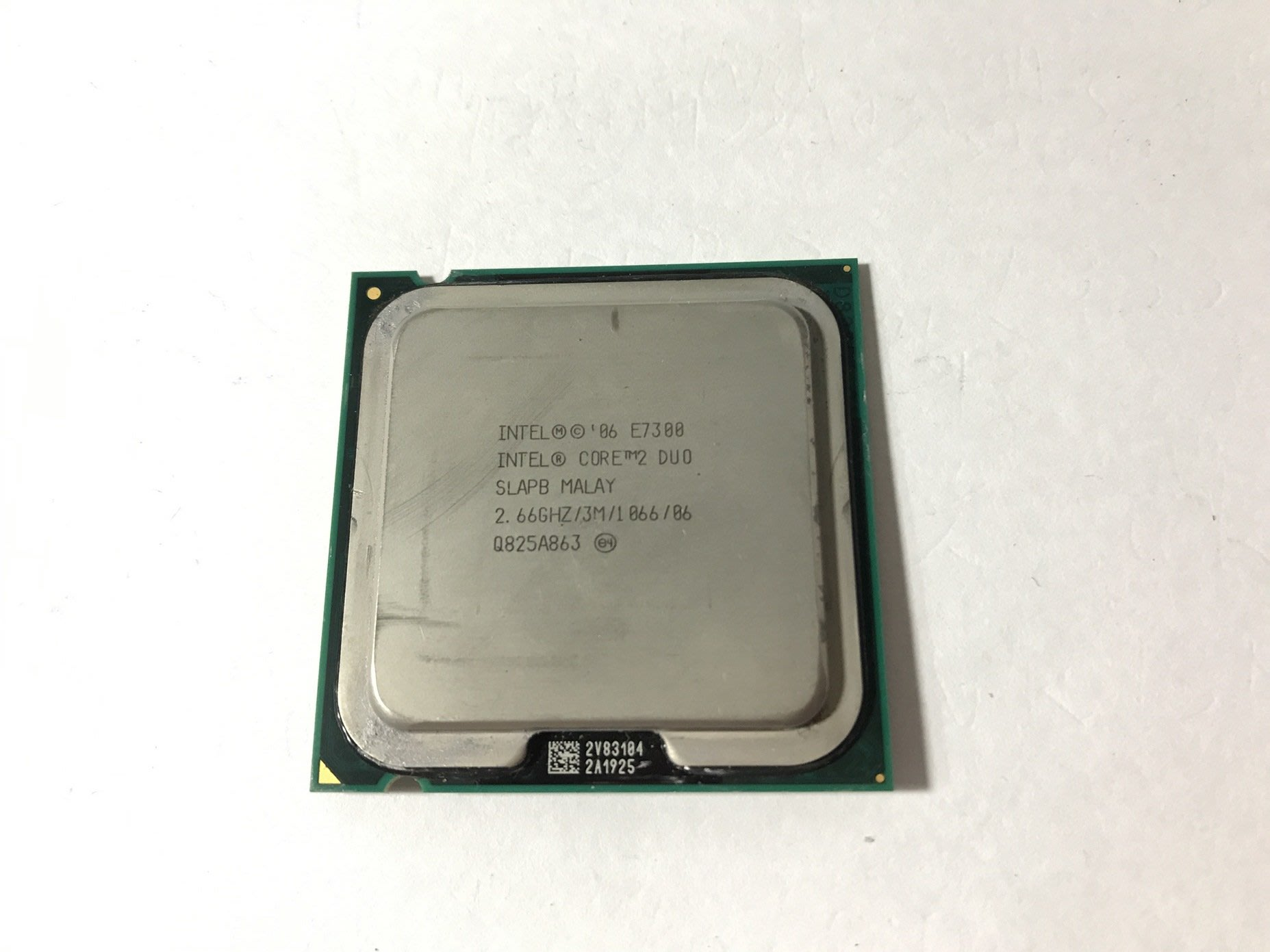 良品INTEL雙核心CPU E7300 2.66G /3M /1066