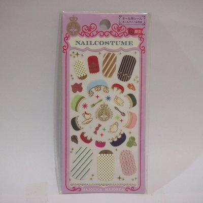 全新 Majolica Majorca Nail Costume Limited Edition MJ日本限量版戀愛魔鏡魔法美甲貼紙連指甲銼 1