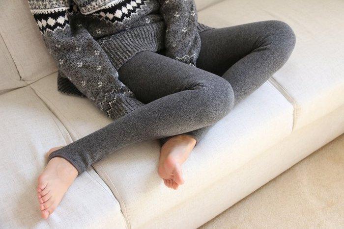 日本內刷毛爆暖褲 加厚新款 內刷毛 兩穿 可當踩腳褲 可當九分褲 內刷毛超彈性保暖褲 發熱褲 可外穿