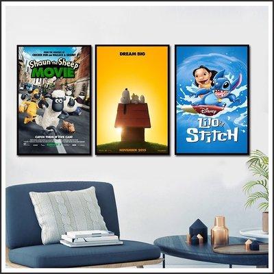 史努比 Peanuts 星際寶貝 笑笑羊大電影 海報 電影海報 藝術微噴 掛畫 嵌框畫 @Movie PoP 多款海報#