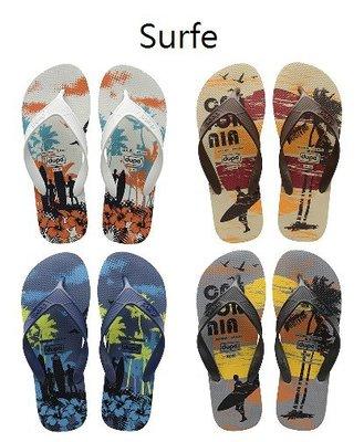 男拖鞋 dupe' Surfe 系列 巴西橡膠人字拖/夾腳拖鞋