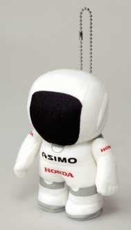 台中皇欣!!正日本進口 HONDA 出品ASIMO 絨布小娃娃吊飾!!稀少原裝品!!