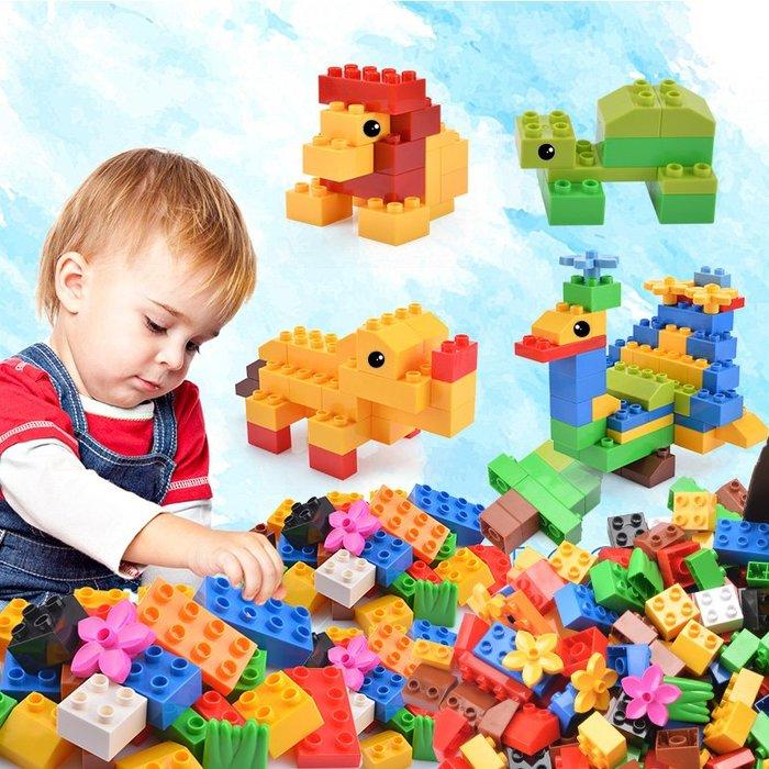 熱賣款--兒童大顆粒積木拼裝拼插玩具塑料男孩子女孩寶寶益智1-2-3-6周歲#兒童玩具#益智玩具#禮物#安全環保