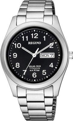 日本正版 CITIZEN 星辰 REGUNO KM1-415-53 男錶 男用 手錶 太陽能充電 日本代購