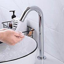 全館免運-全自動感應水龍頭家用單冷熱智能式洗手器全銅紅外線水龍頭【潮范時光機】