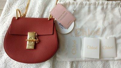【可刷卡分期零利率】CHLOE Drew leather shoulder bag 小豬包