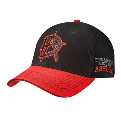 ☆阿Su倉庫☆WWE Dean Ambrose Runs The Asylum Baseball Hat DA新款棒球帽
