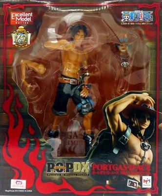 日本正版 POP 海賊王 航海王 艾斯 NEO-DX 10週年 10周年 模型 公仔 日本代購