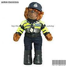 香港警察交通小熊 Hong Kong Police Traffic Teddy 能編制指定職員號碼 多款