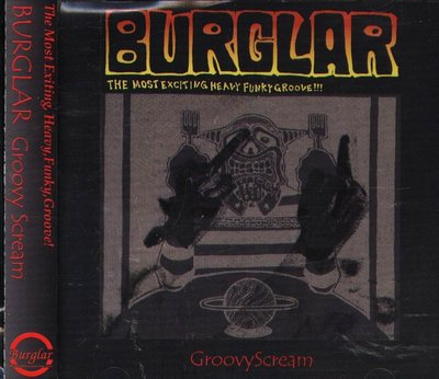 八八 - BURGLAR - Groovy Scream - 日版 CD