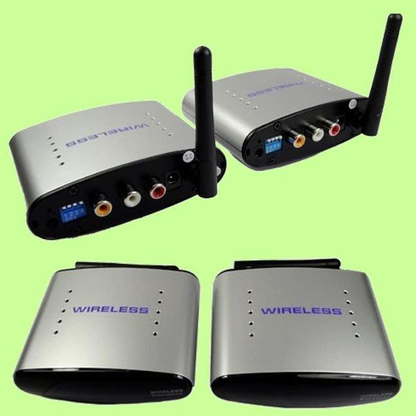 5Cgo【權宇】PAT-220 無線影音傳輸器(遙控) 100米共享 含遙控器延伸回傳 單接收器可選配 含稅