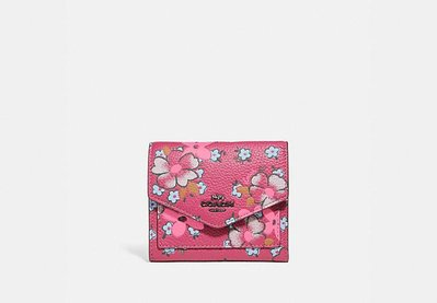 COACH Small Wallet With Field Floral Print 4.6 out of 5 Cust