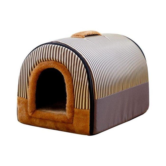 狗窩墊泰迪金毛大中小型犬寵物窩冬可拆洗狗床房子窩貓窩用品四季