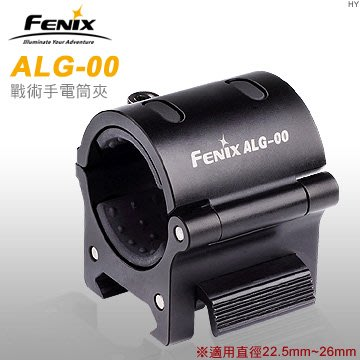 【EMS軍】FENIX菲尼克斯ALG-00戰術手電夾(公司貨)#ALG-00