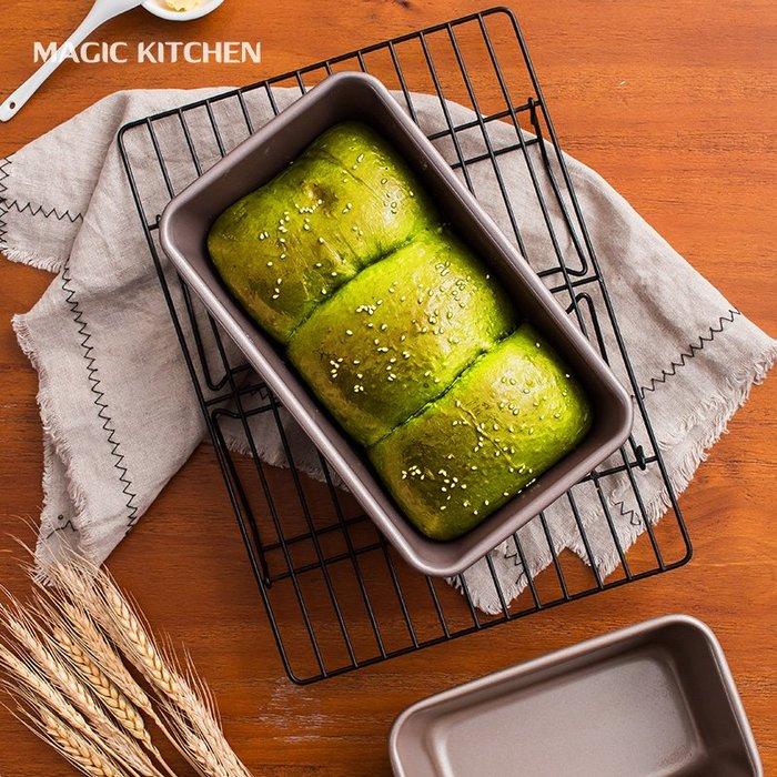 千夢貨鋪-吐司模具長方形不粘450g土司盒面包模具烤箱烘焙家用磅蛋糕模具#搟面杖#菜板#長筷子#實木#打蛋器