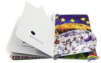 英文原版正版Eric Carle艾瑞卡爾爺爺The Secret Birthday Message神秘的生日信息Board Book低幼兒童英語啟蒙紙板書0-3