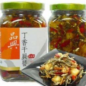 品興丁香干貝醬(三瓶)